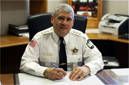 Sam C. Pitassi, Chief Of Police